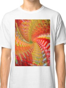 Abstract / Psychedelic Spiral Design Classic T-Shirt