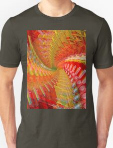 Abstract / Psychedelic Spiral Design T-Shirt