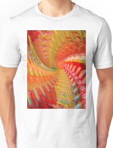 Abstract / Psychedelic Spiral Design Unisex T-Shirt