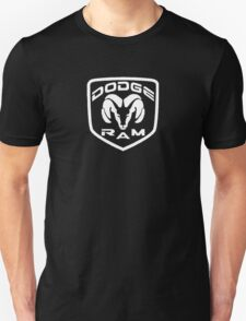 DODGE RAM - Black & White T-Shirt