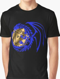 Dungeons and Dragons - Blue and Gold! Graphic T-Shirt