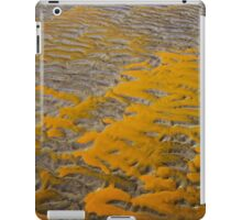Yellow Patterns in the Sand iPad Case/Skin