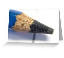 Pencil, Macro. Greeting Card