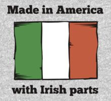 Made In America With Irish Parts One Piece - Long Sleeve
