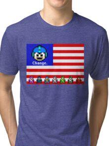 Mega Man: Change Tri-blend T-Shirt