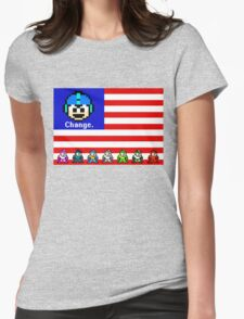 Mega Man: Change Womens Fitted T-Shirt