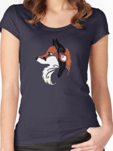 Spirit Animal: Red Fox Women's Fitted Scoop T-Shirt