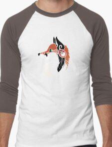 Spirit Animal: Red Fox Men's Baseball ¾ T-Shirt