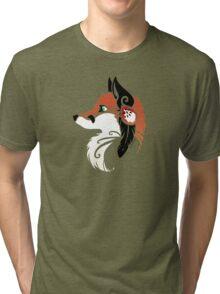 Spirit Animal: Red Fox Tri-blend T-Shirt