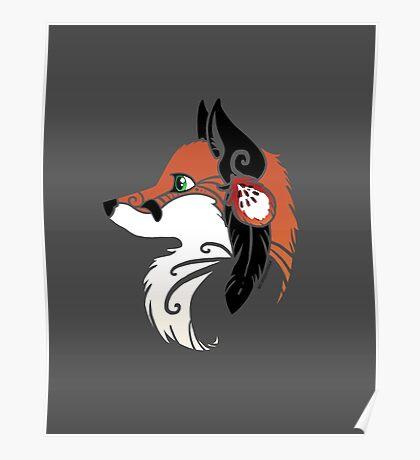 Spirit Animal: Red Fox Poster