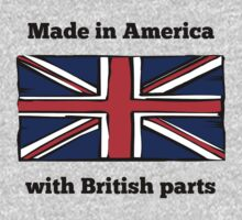 Made In America With British Parts One Piece - Short Sleeve