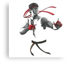 Street Fighter Ryu Canvas Print