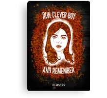 Clara Oswin Oswald (Alternate version) Canvas Print