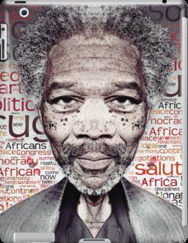 Morgan Freeman by CodyNorris