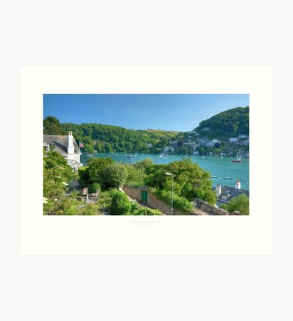 Kingswear, Devon Art Print