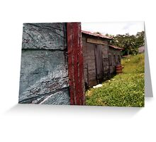 Old Wooden House Greeting Card
