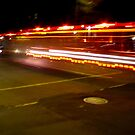 Fire truck in motion by AndreCosto