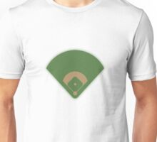 Baseball Diamond Unisex T-Shirt