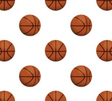 Basketball Pattern Sticker