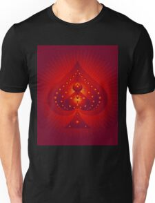 Card Suits: Spades Symbol Unisex T-Shirt