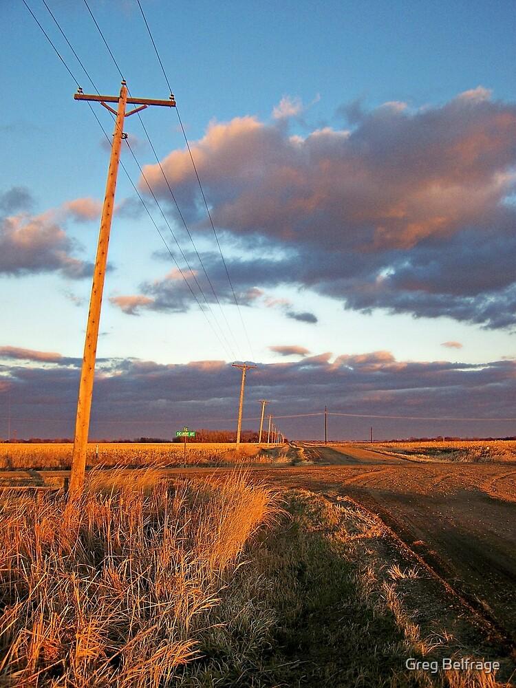 Lonesome Roads by Greg Belfrage