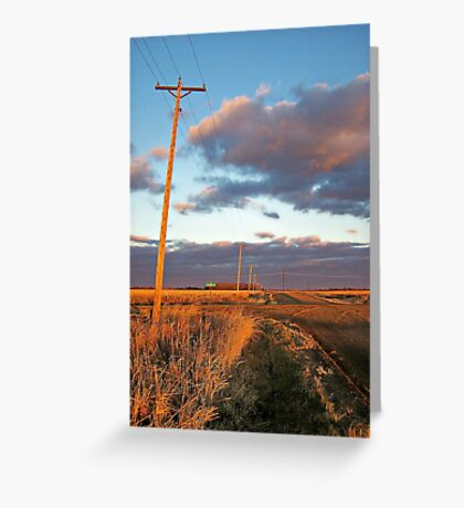Lonesome Roads Greeting Card