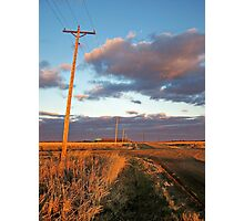 Lonesome Roads Photographic Print