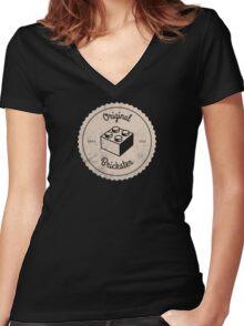 Original Brickster (Since 1932) Women's Fitted V-Neck T-Shirt