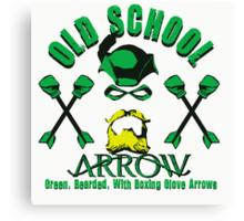 Old School Arrow Canvas Print