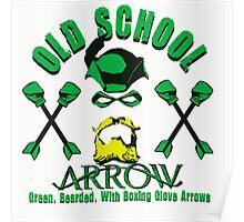 Old School Arrow Poster
