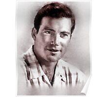 William Shatner by John Springfield Poster