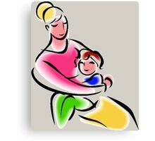 Mothers Are Superheroes Canvas Print