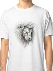 Lion Pencil Sketch Classic T-Shirt