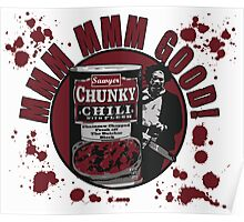 Texas Chainsaw Chili Poster