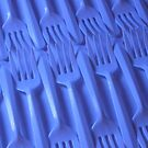 Plastic fork blues- ISO 6400 by Stephen Thomas