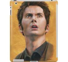 Time Lord David Tennant iPad case iPad Case/Skin