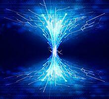 fiber optics by naphotos