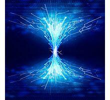 fiber optics Photographic Print