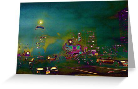 Boston night by Plamen Hristov