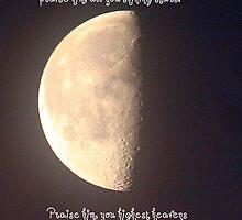 Psalms 148:1, 3-4 by Paula Tohline  Calhoun