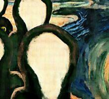 Wu Scream - www.art-customized.com Sticker