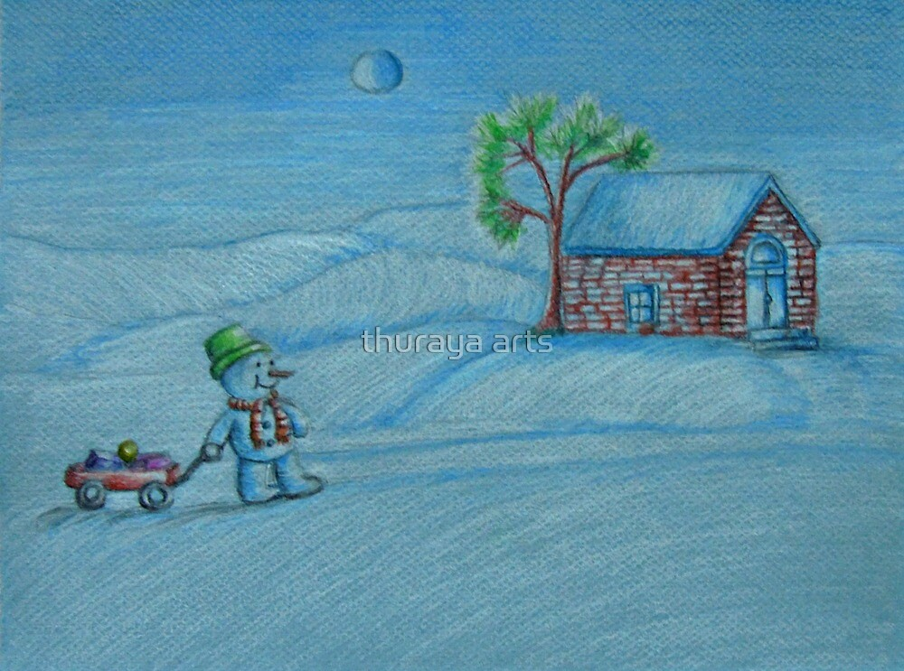 Home to Christmas by thuraya arts
