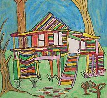 Dion Halse 'Colourful House' by AccessArtsBOA