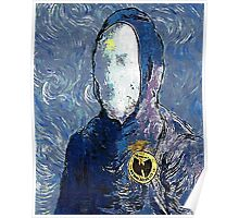Wu man by vanGogh - www.art-customized.com Poster