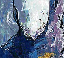 Wu man by vanGogh - www.art-customized.com Sticker
