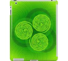 Freestyle Celtic Triple Spiral iPad Case/Skin