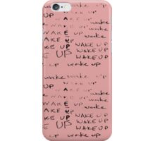 Teen Wolf - Stiles - Wake up Pattern iPhone Case/Skin