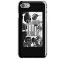 Straight Outta Sandlot iPhone Case/Skin