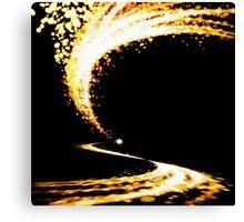 lighting wave Canvas Print