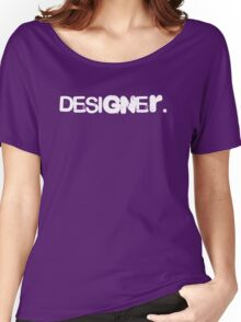 designer Women's Relaxed Fit T-Shirt